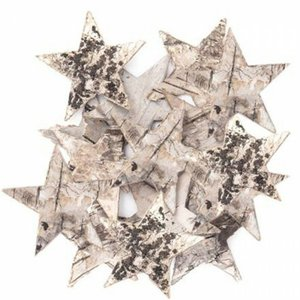 Estrellas naturales de corteza de árbol DP Craft Christmas