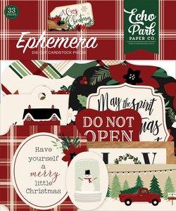 Die cuts A Cozy Christmas