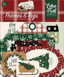 Etiquetas y marcos A Cozy Christmas