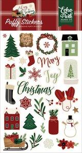 Pegatinas puffy A Cozy Christmas