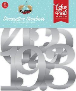 Remenber the Magic Decorative Silver Foil Numbers