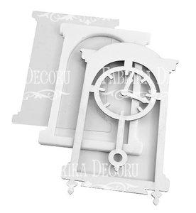 Shaker Dimension Set Clock