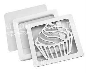 Shaker Dimension Set Cupcake