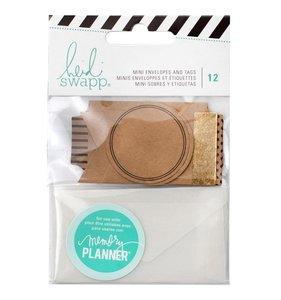 Mini sobres y etiquetas para planners