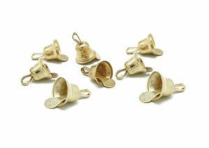 Set de campanillas color Oro 10 mm 30 pcs
