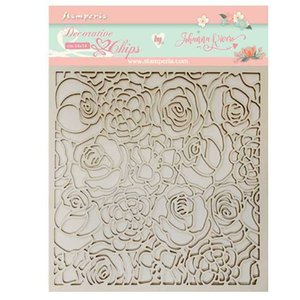 Decorative chips Roses Col. Gratitud de Johanna Rivero