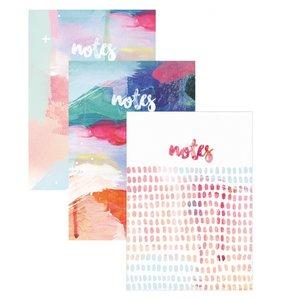 """Set 3 cuadernos 6x8"""" Artist"""