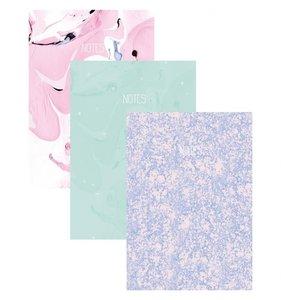 """Set 3 cuadernos 6x8"""" Lunar"""
