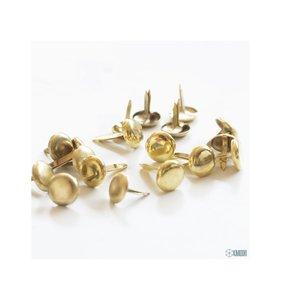 Brads dorados 8 mm