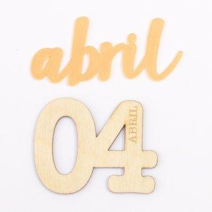 Set adornos para PL Kimidori Colors mes Abril