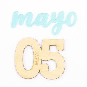 Set adornos para PL Kimidori Colors mes Mayo