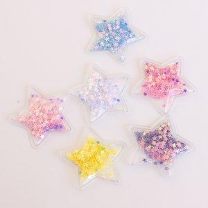 Adornos Mini Estrellas shaker 6 pcs