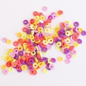Confetti Kimidori Colors Círculos con agujero Verano