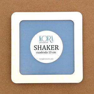 Shaker Kora XL Cuadrado 13 cm