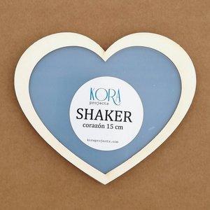 Shaker Kora XL Corazón 15 cm