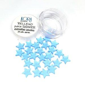 Relleno para shakers Estrellas azules
