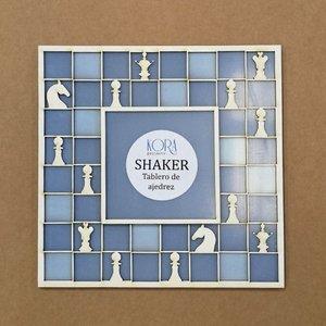 Shaker Kora Projects XL Tablero de ajedrez