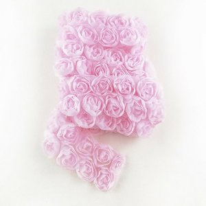 Cinta de tela Kora Projects Rosas Rosa