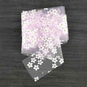 Cinta Kora Projects de Tul con margaritas Rosa Sakura