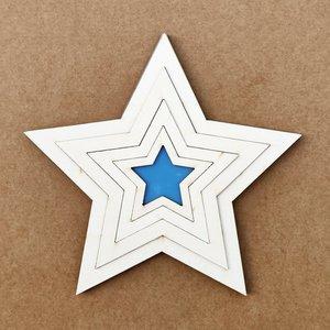 Set 4 shakers Kora Projects Estrellas