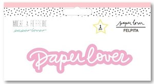 Felpita bordada Paper Lover