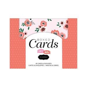 Set de tarjetas y sobres Jen Hadfield Hey Hello