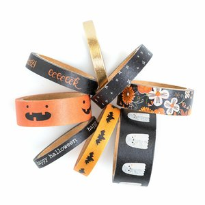 Set de washi tapes Spoooky de Pebbles