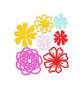 Adornos acrílicos Floral Dreams