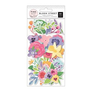 Die cuts flores Bloom Street