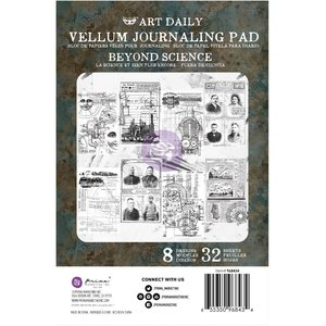 Prima Art Daily Vellum Pad Beyond Science 32 sheets