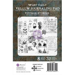 Prima Art Daily Vellum Pad Vintage Stories 32 sheets