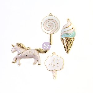 Charms metálicos Dulce