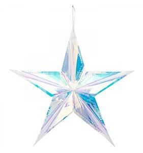 Estrella iridiscente 40 cm