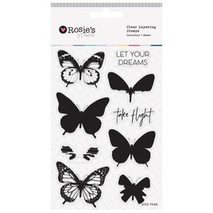 Sellos en capas Butterfly