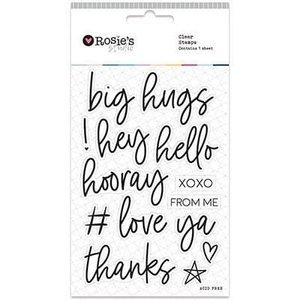 Sellos Big Greetings de Rosie's Studio