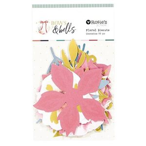 Die cuts de flores Bows and bells