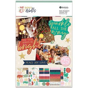 Libreto de pegatinas Bows and bells
