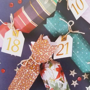 Kit calendario de adviento Cracker Bows and bells