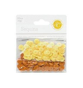 Lentejuelas amarillas SC