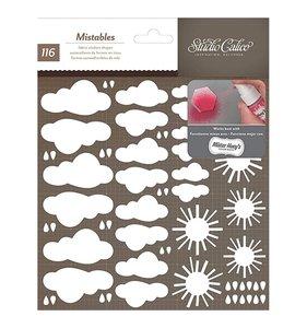 Pegatinas de tela para decorar nubes