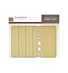 "Tarjetas de madera 4x3"" Studio Calico"