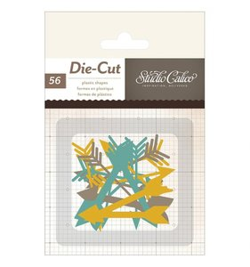 Die Cuts de acetato Thin Arrows