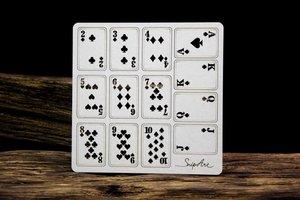 Snip Art Chipboard Lucky Games Cards Set