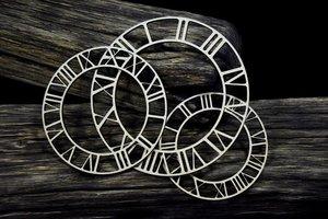 Formas en MDF Snip Art Clock faces 3 pcs