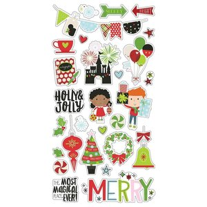 "Chipboard 6x12"" Say Cheese Christmas"