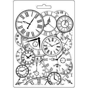 Molde flexible A5 Stampería Clocks