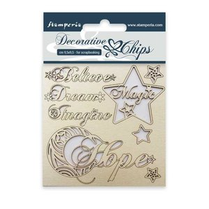 Stampería Decorative Chips Hope