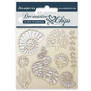 Stampería Decorative Chips Shells
