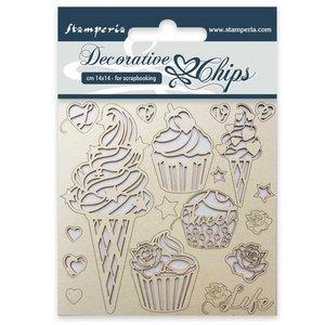 Stampería Decorative Chips Ice Cream