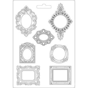 Molde flexible A4 Stampería Princess Frames